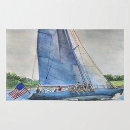 Sailing on Columbia 12 US 16 Rug