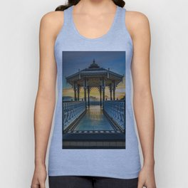 The Victorian Bandstand at Brighton Unisex Tank Top