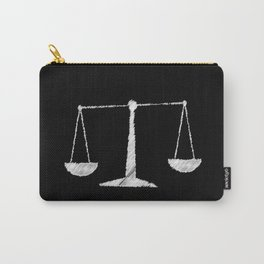Chalkboard Scales Carry-All Pouch
