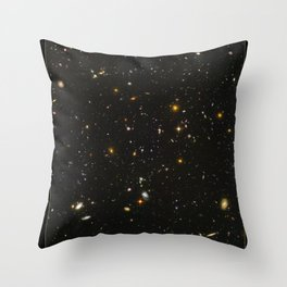 NASA Hubble Space Telescope Poster - Hubble Extra Deep Field Throw Pillow