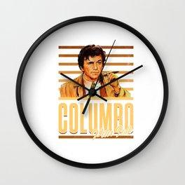 Columbo - Peter Flak Wall Clock