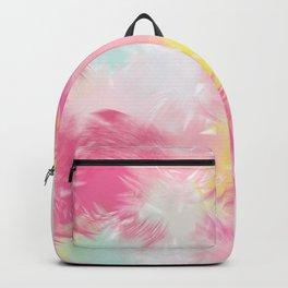 Blurred Blend - Pink Backpack