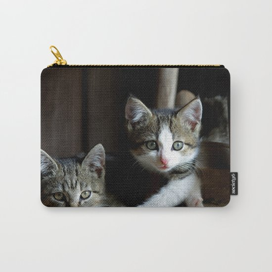 A small cats dream team in the siesta Carry-All Pouch