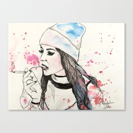 Well Behaved Woman Canvas Print