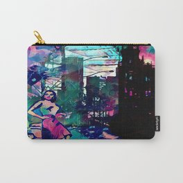 Dame From Buxom Street Carry-All Pouch