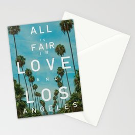 LOVE AND LOS ANGELES Stationery Cards