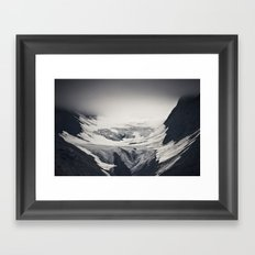 concave Framed Art Print