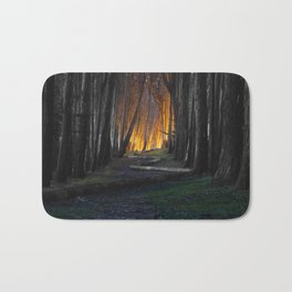 Haunted Forest and Andrew Goldsworthy Sculpture Bath Mat