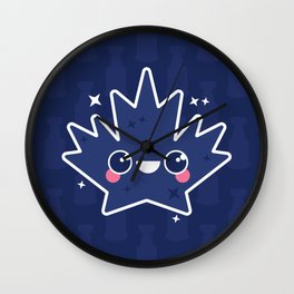 How dare you leaf me Wall Clock