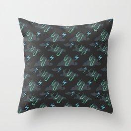 Storm Pattern Throw Pillow