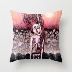 Partially Dreaming Throw Pillow