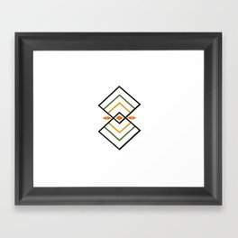 Rhombus Framed Art Print