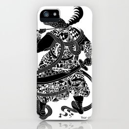 Chinese zodiac sign, Year of the Snake iPhone Case