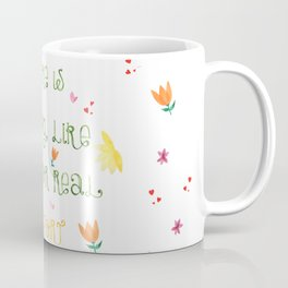 There is nothing like home for real comfort | Jane Austen Quote Coffee Mug