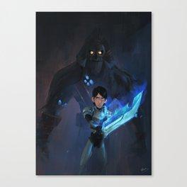 'Alway Be Afraid' Canvas Print