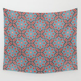 Volcanic Eruption Abstract Print Seamless Pattern Wall Tapestry
