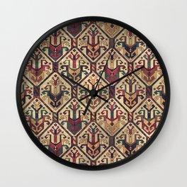 Kilim Fabric (Vintage) Wall Clock