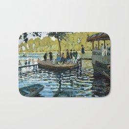 Claude Monet La Grenouillère Bath Mat