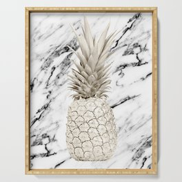 Marble Pineapple Serving Tray