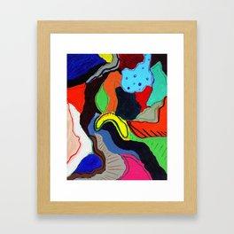 Miro Framed Art Print