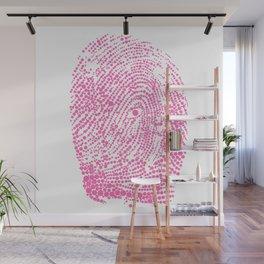 Fingerprint ID Wall Mural