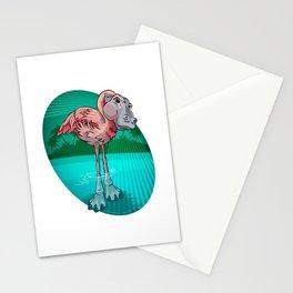 Mutant Zoo - Flamingopotamus Stationery Cards