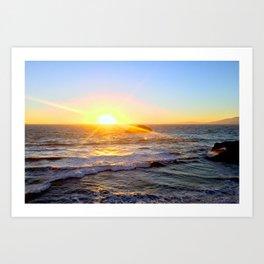 Ocean Beach, CA Art Print