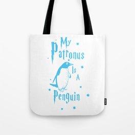 Penguin Patronus Tote Bag