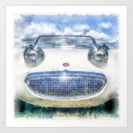 Happy Happy Fun Car Art Print