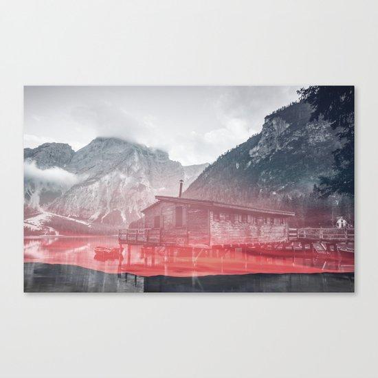 Rising Fog Canvas Print