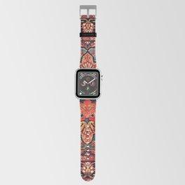 Kashan Poshti Central Persian Rug Print Apple Watch Band