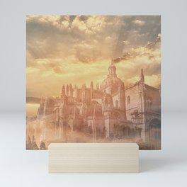Segovia Cathedral Mini Art Print