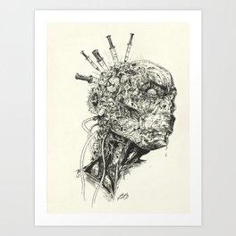 Growing Insanity Art Print