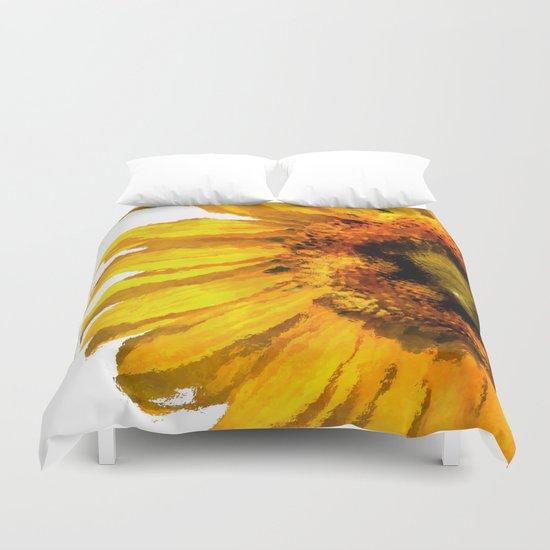 Simply a sunflower Duvet Cover