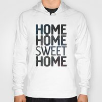 home sweet home Hoodies featuring HOME by Eolia