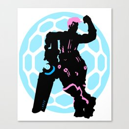 Strong like the Mountain Canvas Print
