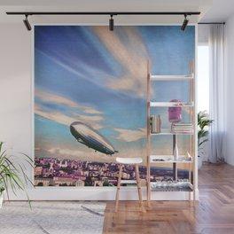 Airship Mooring Wall Mural