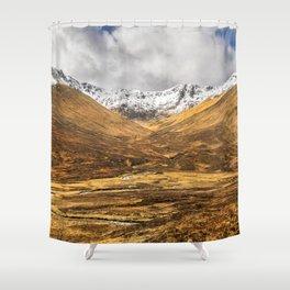 Golden Valley. Shower Curtain