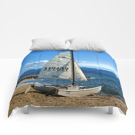 Ready To Sail Comforters