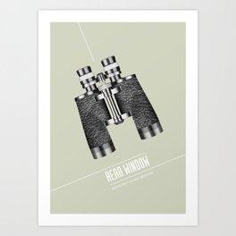 Rear Window - Alternative Movie Poster Art Print