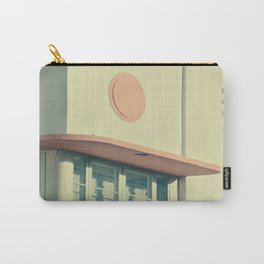 Art Deco in Peach Carry-All Pouch