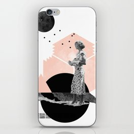 Too Late iPhone Skin