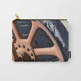 Rubber and Rust Carry-All Pouch