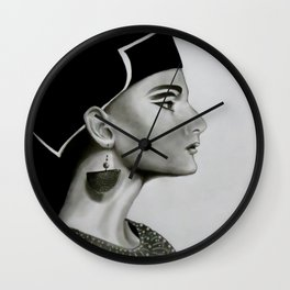 Nefertiti Wall Clock