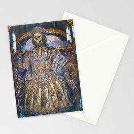 Jeweled Skeleton, Waldsassen Basilica, Germany Stationery Cards