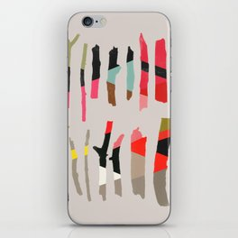 painted twigs 1 iPhone Skin