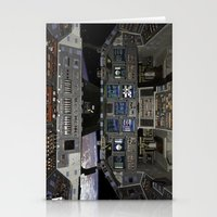 nasa Stationery Cards featuring Space Shuttle NASA by Planet Prints