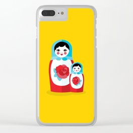 Mother & Daughter Clear iPhone Case