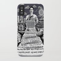 kerouac iPhone & iPod Cases featuring on the road - kerouac  by miles to go