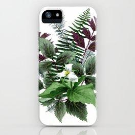 Undergrowth iPhone Case